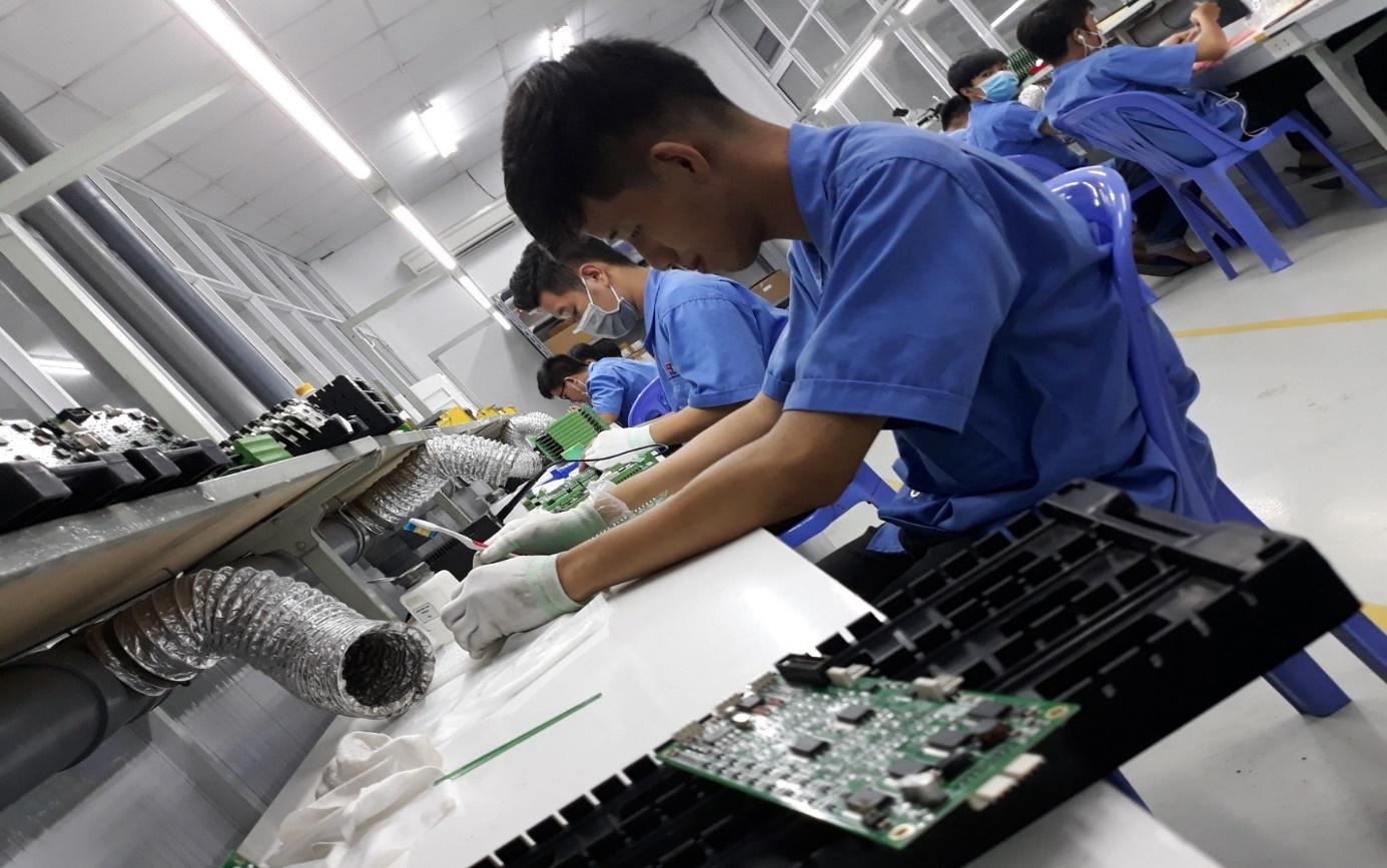 Khoa Điện – Điện tử kết hợp đào tạo Modul