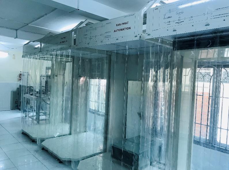 Trang thiết bị xưởng điều hòa không khí - Máy Dakin VRV