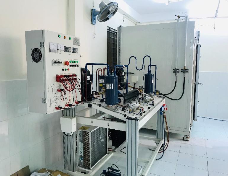 Trang thiết bị xưởng lạnh công nghiệp - Kho lạnh 2 cấp nén