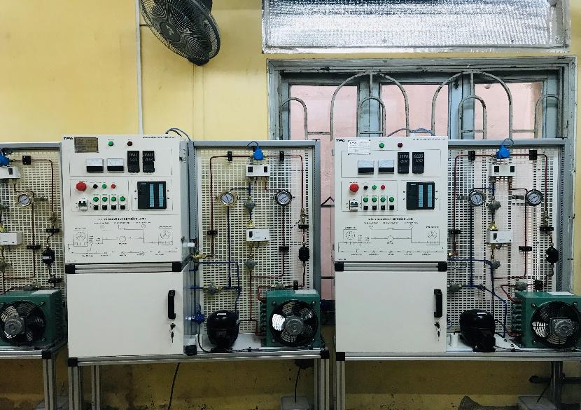 Trang thiết bị xưởng lạnh cơ bản - Hệ thông điều khiển lập trình PLC