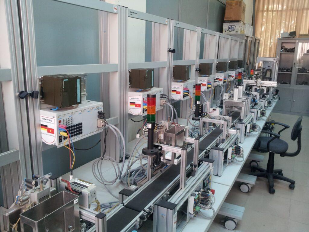 Mô hình dây chuyền sản xuất MPS